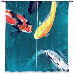 Decorative Window Treatments | Brazen Design Studio Water Ballet