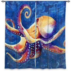 Decorative Window Treatments | Brazen Design Studio - Adrift Octopus