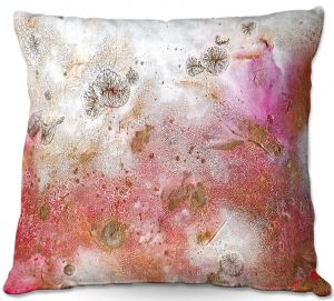 Decorative Outdoor Patio Pillow Cushion | Brazen Design Studio - Cascade Abstract