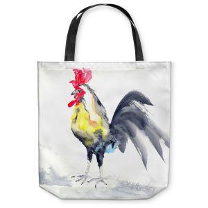 Unique Shoulder Bag Tote Bags |Brazen Design Studio - Cockrel Rooster