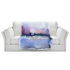 Artistic Sherpa Pile Blankets | Brazen Design Studio - Colour Array | Abstract Landscape
