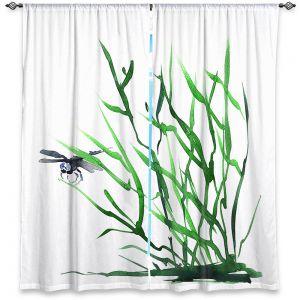 Decorative Window Treatments | Brazen Design Studio - Dragonfly Grass