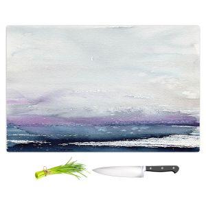 Artistic Kitchen Bar Cutting Boards | Brazen Design Studio - Love Letters | Abstract Landscape