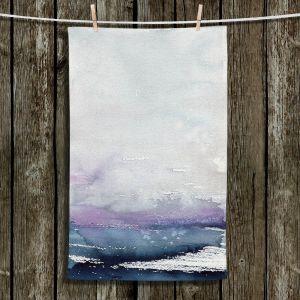 Unique Bathroom Towels   Brazen Design Studio - Love Letters   Abstract Landscape