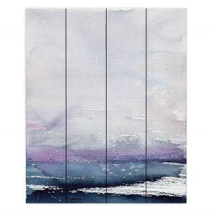Decorative Wood Plank Wall Art   Brazen Design Studio - Love Letters   Abstract Landscape
