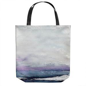 Unique Shoulder Bag Tote Bags | Brazen Design Studio - Love Letters | Abstract Landscape