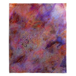 Decorative Fleece Throw Blankets | Brazen Design Studio - Myriad Abstract