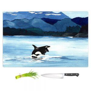 Artistic Kitchen Bar Cutting Boards | Brazen Design Studio - Orca Beach