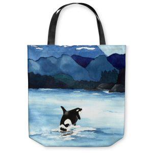 Unique Shoulder Bag Tote Bags |Brazen Design Studio - Orca Beach