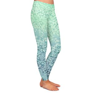 Casual Comfortable Leggings | Brazen Design Studio - Wavesong Abstract