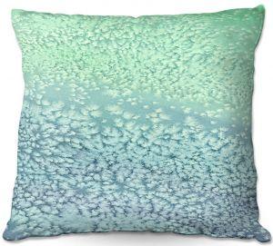 Decorative Outdoor Patio Pillow Cushion | Brazen Design Studio - Wavesong Abstract
