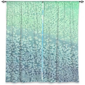 Decorative Window Treatments | Brazen Design Studio - Wavesong Abstract