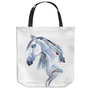 Unique Shoulder Bag Tote Bags   Brazen Design Studio - Wild Heart Horse   Animals Horses