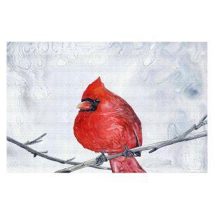 Decorative Floor Coverings   Brazen Design Studio - Winter Cardinal
