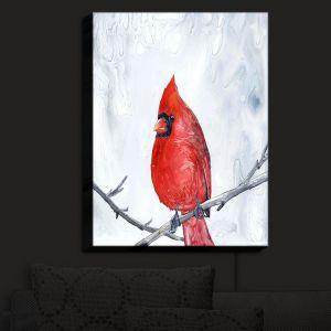 Nightlight Sconce Canvas Light | Brazen Design Studio - Winter Cardinal | Bird Tree Branch