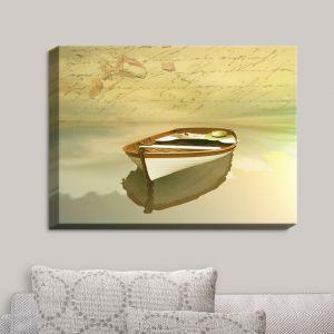Decorative Canvas Wall Art | Carlos Casamayor - Memories I Boat