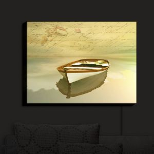 Nightlight Sconce Canvas Light | Carlos Casamayor - Memories I Boat