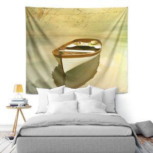 Artistic Wall Tapestry | Carlos Casamayor - Memories I Boat