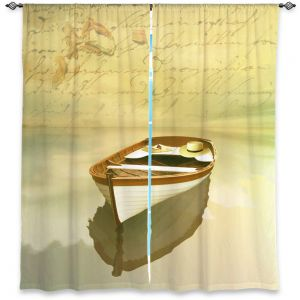 Decorative Window Treatments | Carlos Casamayor - Memories I Boat