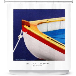 Premium Shower Curtains | Carlos Casomeyer - Nautical Closeup XIV