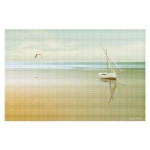 Decorative Floor Coverings   Carlos Casamayor - Soft Sunrise On the Beach I