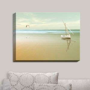 Decorative Canvas Wall Art | Carlos Casamayor - Soft Sunrise On the Beach I