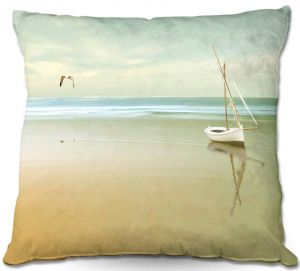 Throw Pillows Decorative Artistic | Carlos Casamayor - Soft Sunrise On the Beach I