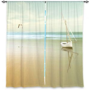 Decorative Window Treatments | Carlos Casamayor - Soft Sunrise On the Beach I