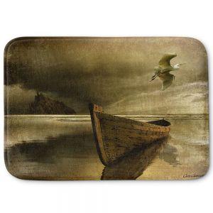 Decorative Bathroom Mats | Carlos Casamayor - The Solitude Of the Sea IIIB