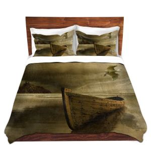 Artistic Duvet Covers and Shams Bedding | Carlos Casamayor - The Solitude Of the Sea IIIB