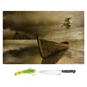 Artistic Kitchen Bar Cutting Boards | Carlos Casamayor - The Solitude Of the Sea IIIB
