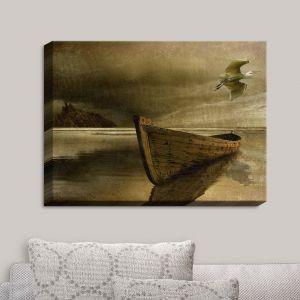 Decorative Canvas Wall Art | Carlos Casamayor - The Solitude Of the Sea IIIB