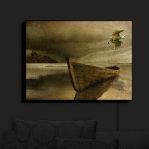 Nightlight Sconce Canvas Light | Carlos Casamayor - The Solitude Of the Sea IIIB