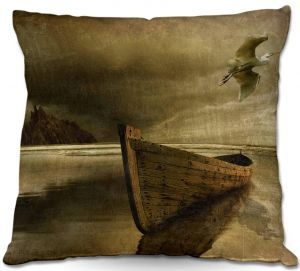Throw Pillows Decorative Artistic | Carlos Casamayor - The Solitude Of the Sea IIIB