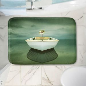 Decorative Bathroom Mats   Carlos Casamayor - Time Out XIV Boat