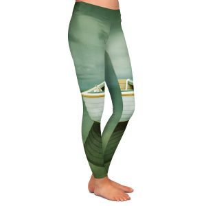 Casual Comfortable Leggings | Carlos Casamayor - Time Out XIV Boat