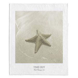 Artistic Sherpa Pile Blankets | Carlos Casamayor - Time Out VIII Starfish