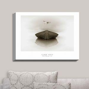 Decorative Canvas Wall Art | Carlos Casamayor - Time Out I Boat