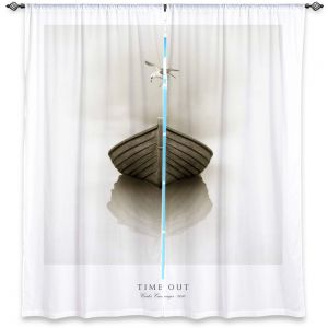 Decorative Window Treatments | Carlos Casamayor - Time Out I Boat