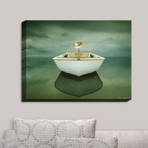 Decorative Canvas Wall Art | Carlos Casamayor - Time Out XIV Boat