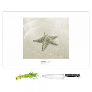 Artistic Kitchen Bar Cutting Boards   Carlos Casamayor - Time Out VIII Starfish
