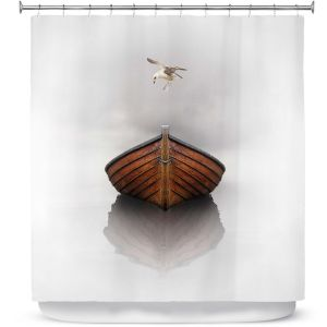 Premium Shower Curtains | Carlos Casomeyer - Time Stopped I