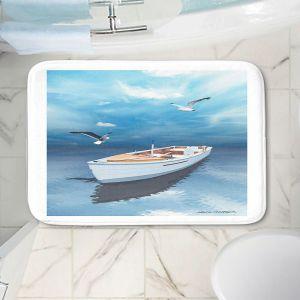 Decorative Bathroom Mats | Carlos Casomeyer - Blue Dream III