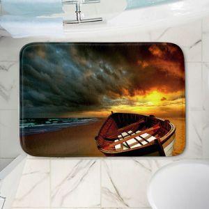 Decorative Bathroom Mats | Carlos Casomeyer - Soft Sunrise On The Beach IX
