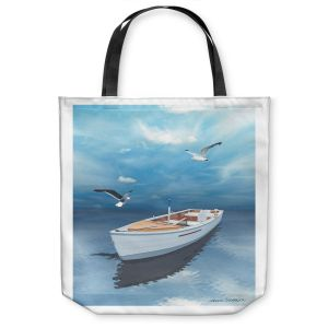 Unique Shoulder Bag Tote Bags |Carlos Casomeyer - Blue Dream III