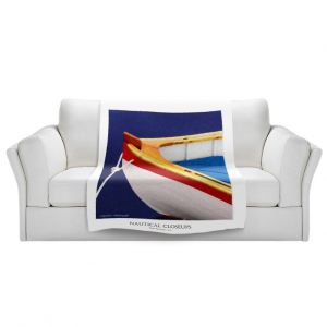 Artistic Sherpa Pile Blankets | Carlos Casomeyer - Nautical Closeup XIV