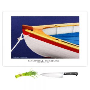 Artistic Kitchen Bar Cutting Boards | Carlos Casomeyer - Nautical Closeup XIV
