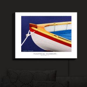 Nightlight Sconce Canvas Light | Carlos Casamayor - Nautical Closeup XIV | Boat