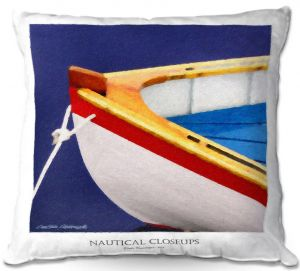 Decorative Outdoor Patio Pillow Cushion | Carlos Casomeyer - Nautical Closeup XIV