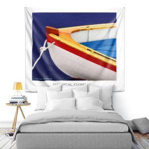 Artistic Wall Tapestry   Carlos Casomeyer - Nautical Closeup XIV